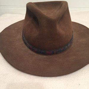 Bailey Shasta Fur Felt size 7 Brown Cowboy